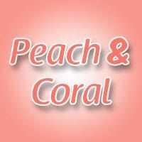 Peach & Coral